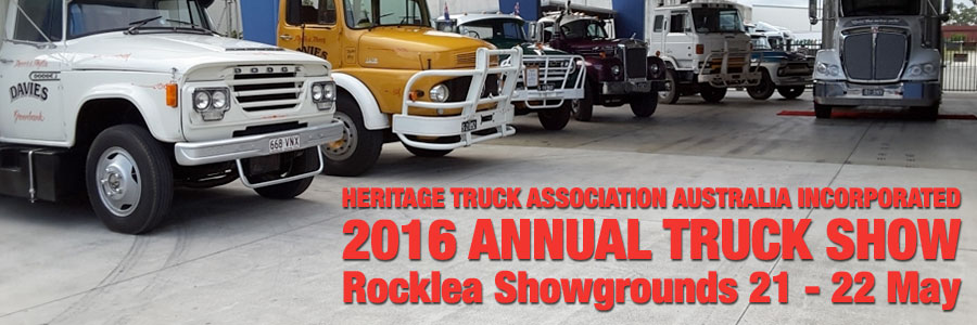 Heritage Truck Association annual show