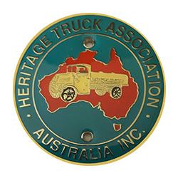 Metal Bumper Badge